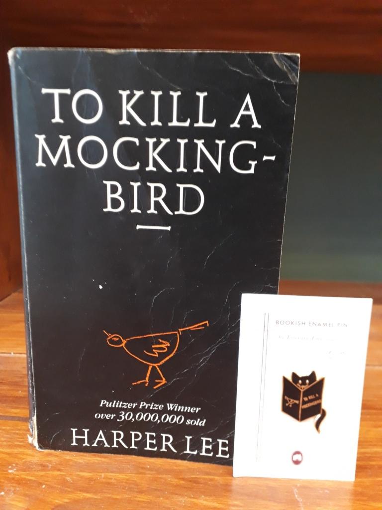 To Kill a Mocking Bird enamel pin 8 euro